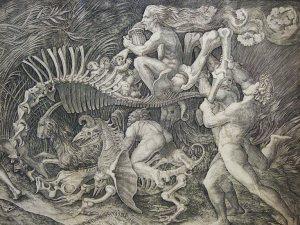 Agostino Musi, Vision de la Caza Salvaje, 1515