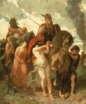 Evariste Vital Luminais (1821-1896), La Invasión