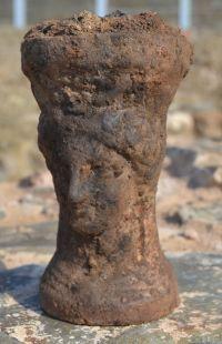 Timiaterio de Deméter, encontrado en el poblado íbero de Ca n'Oliver.