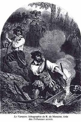 R. de Moraine, Le Vampire, sf
