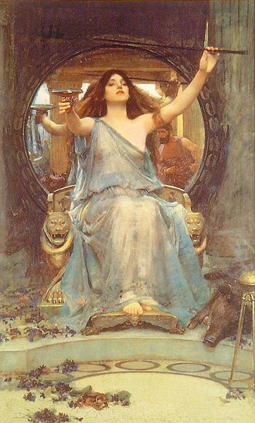 John William Waterhouse - Circe Offering the Cup to Ulysses (1891)