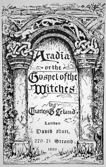 Portada de Aradia, 1899