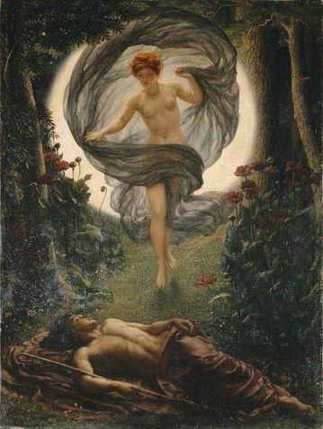Edward John Poynter, The vision of Endymion, 1902