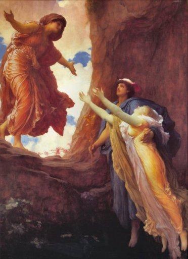 Frederic Leighton, El retorno de Perséfone, 1891