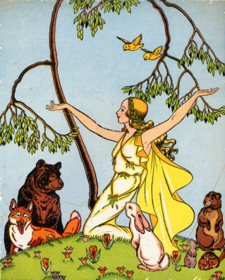 Watty Piper, Primavera (Folk Tales Children Love), 1932