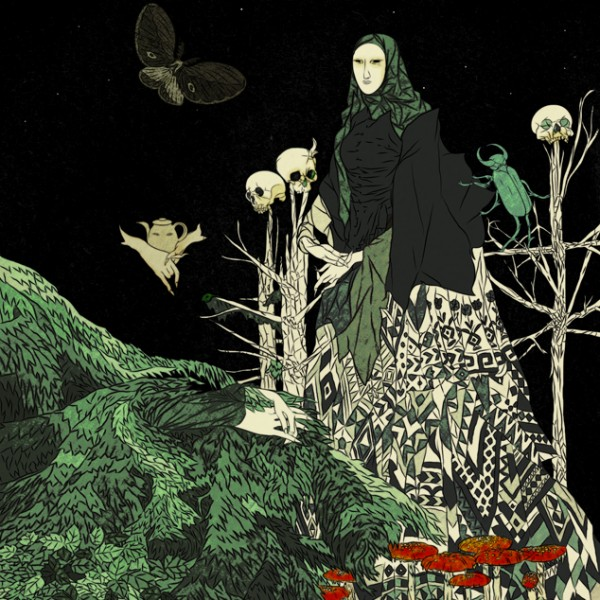 Baba_Yaga_with_Moth_and_Beetle_Print_by_TinCanForest-600x600