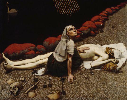 Akseli Gallen-Kallela, Lemminkäinen's Mother, 1897