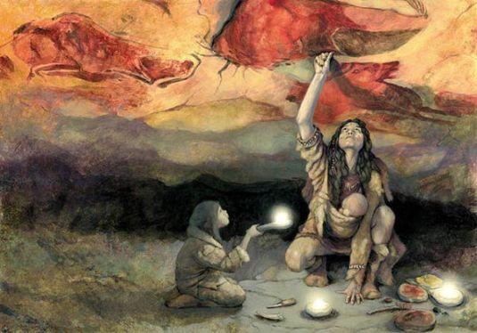Arturo Asensio, La mirada al Paleolítico