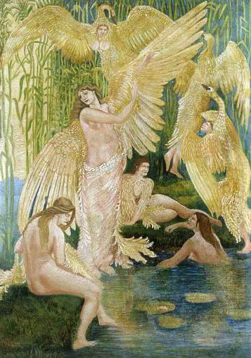 the-swan-maidens-walter-crane-1894