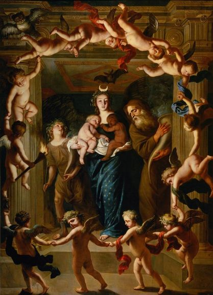 Jan_van_den_Hoecke_or_Pieter_Thijs_-_Allegory_of_the_Night_(Luna_-_Selene)