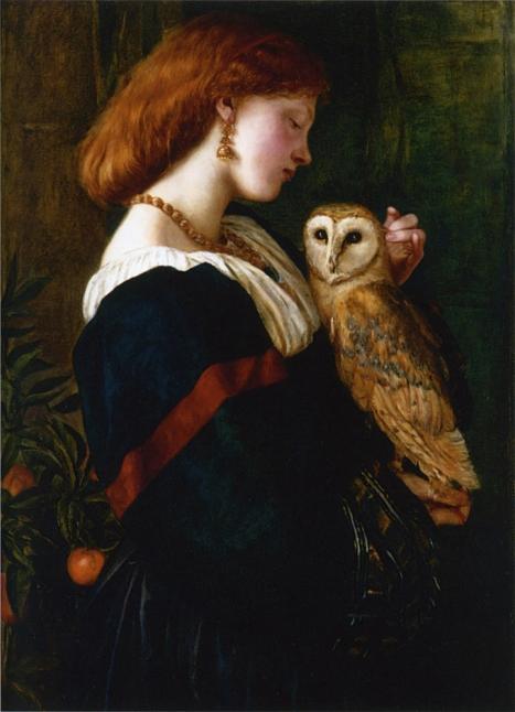 Valentine Cameron Prinsep, La Lechuza, ca. 1863